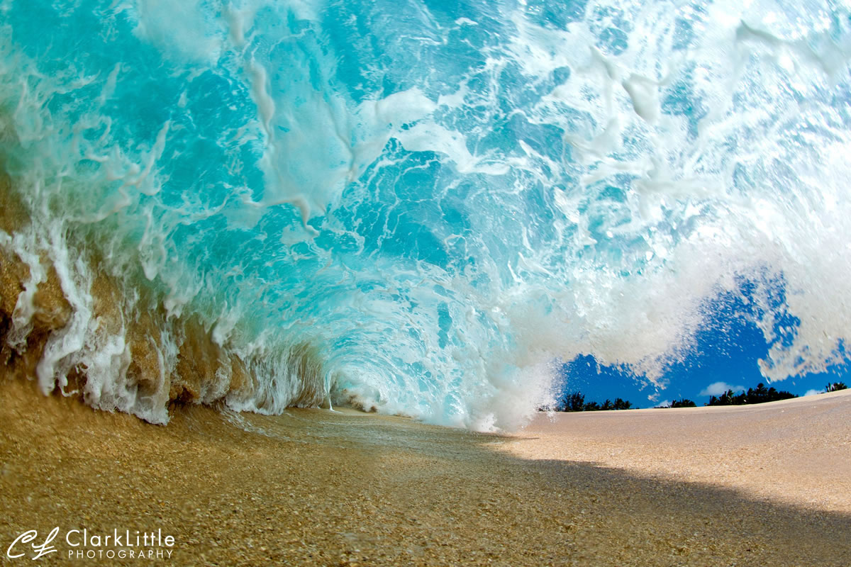 Clark Little, Shorebreak photography, Hawaii