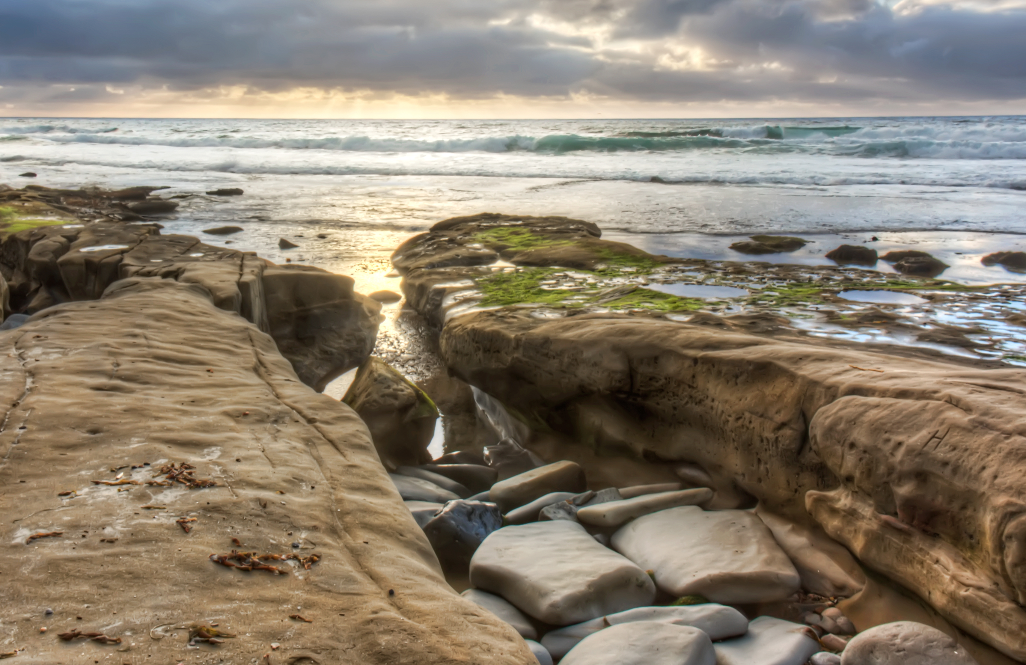 San Diego Coast, California, Beach
