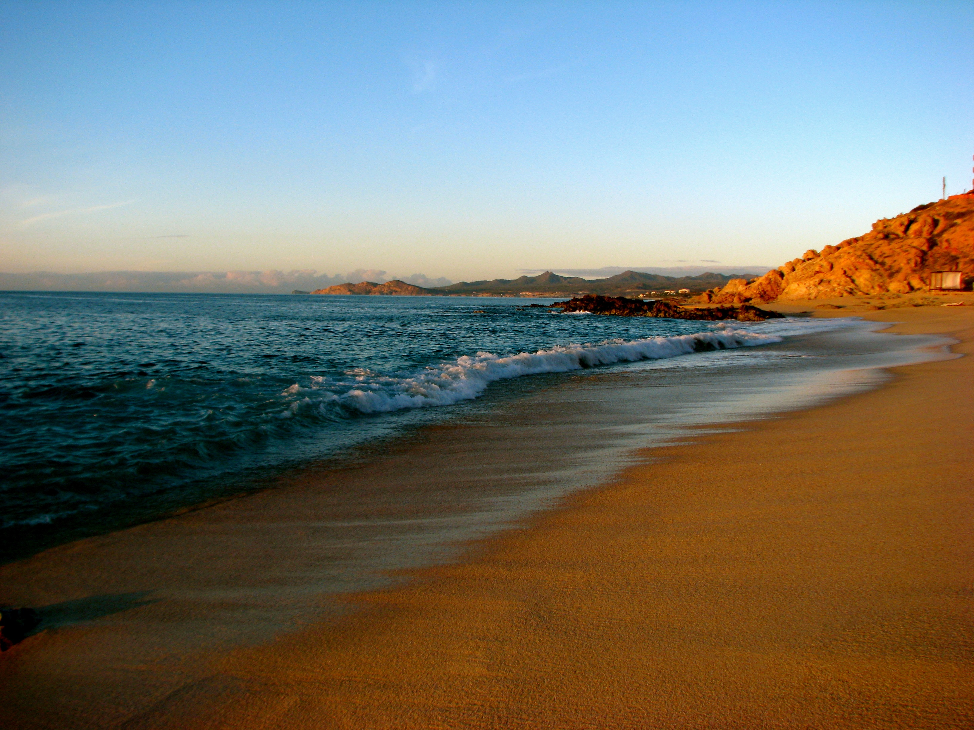 Beaches in Baja California Sur